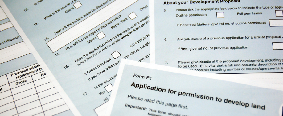 application for planning